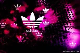 Pink Adidas Logo