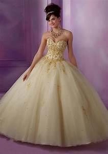 white and gold sweet 16 dresses Naf Dresses