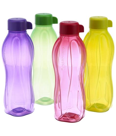 tupperware bottle ml tupperware 310 ml water bottle set of 4 buy at best price in india snapdeal