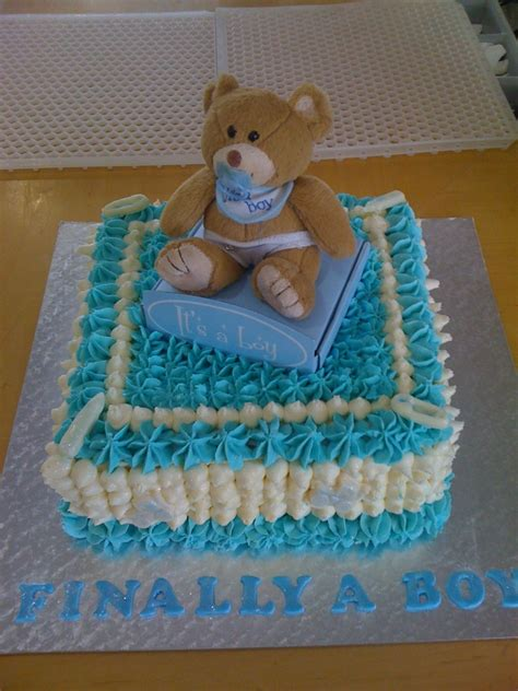 Cake Decoration Ideas For Boy by Living Room Decorating Ideas Baby Shower Cakes Boy