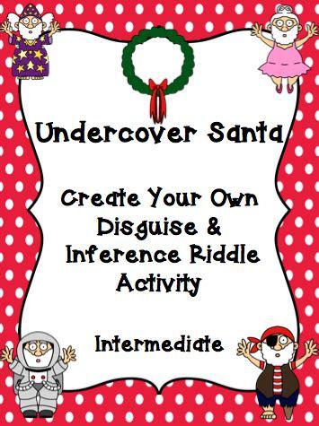 santa riddles undercover santa mrs o knows