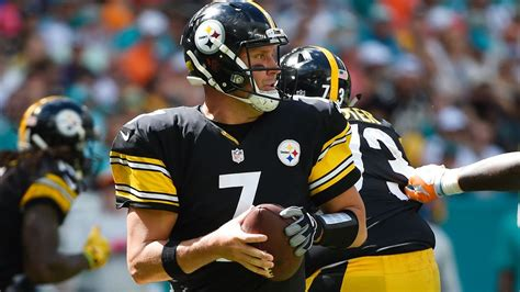 nfl hits big ben practices on track to play sunday
