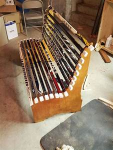 Project: Broken Hockey Stick Bench Dan Zehner