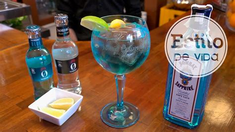 gin tonic  citricos coctel youtube