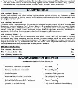 business administration resume sample template With business administration resume sample