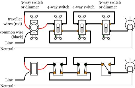 Leviton Decora 4 Way Switch Diagram by Wiring Diagram For Leviton 4 Way Switch Powerking Co
