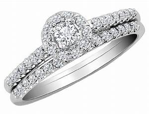 order diamond engagement ring and wedding band set 1 2 With low cost wedding ring sets