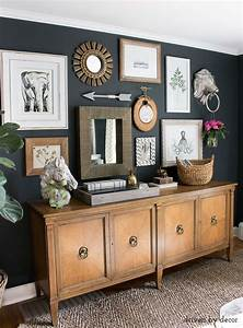 My five favorite tips for mixing metals in home decor for Best brand of paint for kitchen cabinets with picture frames wall art