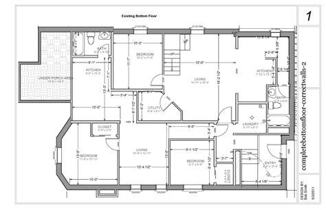 Basement Apartment Floor Plan