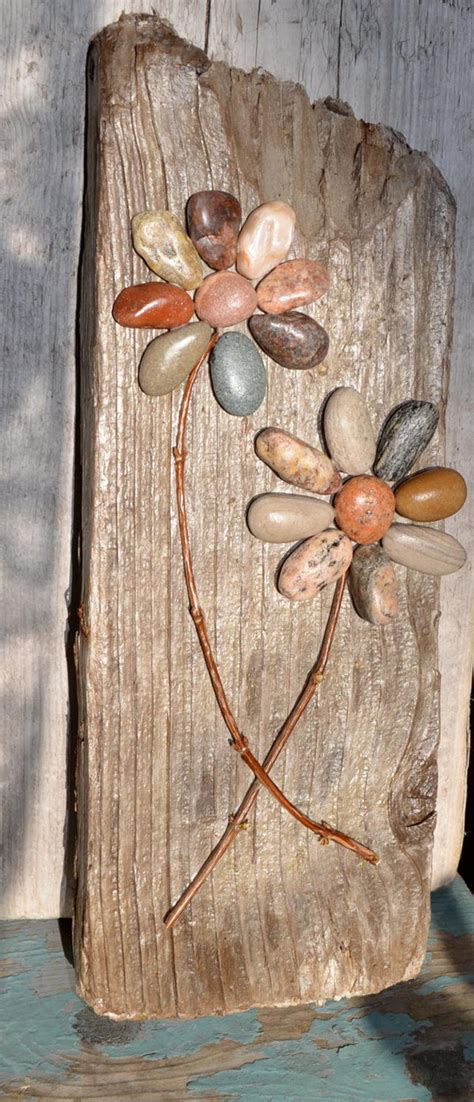 diy home decor ideas  pebbles  river rocks