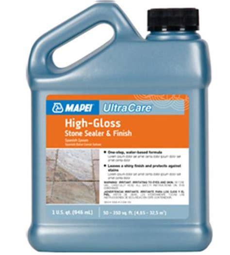 high gloss grout sealer mapei ultracare high gloss stone sealer finish 32 oz jug