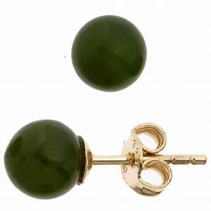 333 Gold Preis Berechnen : ohrstecker stecker mit jade kugel 6 4mm dunkelgr n 333 ~ Themetempest.com Abrechnung