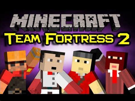 minecraft team fortress  mod spotlight red  blue