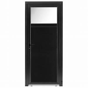 Porte de service pvc roxane pasquet menuiseries for Porte de garage coulissante et porte de service vitrée