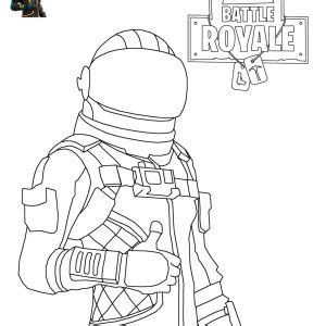 Fortnite Battle Royale Coloring Page Free Printable Coloring Pages