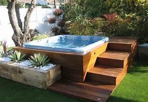 15 amazing hot tub ideas for your backyard outdoorthemecom With whirlpool garten mit baobab bonsai