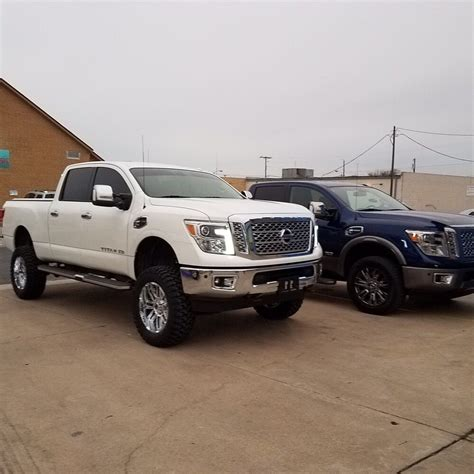 nissan titan xd lifted 2017 nissan titan xd 6 quot lift with 35 quot tires yelp