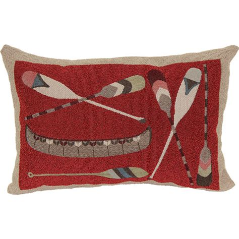 better homes and gardens oblong canoe decorative pillow