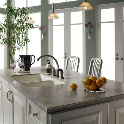 Grey Corian Countertops by Best 25 Solid Surface Countertops Ideas On