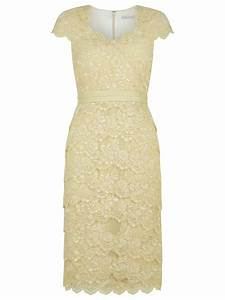 Jacques Vert Sweetheart Lace Dress in Yellow (Light Yellow ...