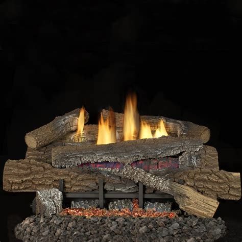 gas logs for fireplace superior fireplaces 30 inch boulder mountain gas log set