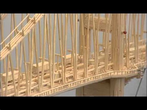 humber bridge matchstick model youtube