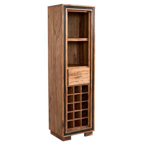Assembled Bookcases jodphur sheesham wine bookcase fully assembled oak world