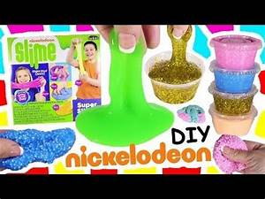 Nickelodeon SLIME Kit DIY Crunchy Foam Make 5 Different
