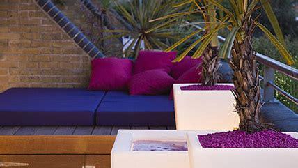 garden design river thames funky roof terrace garden