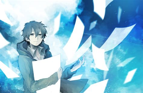 Boy And Anime Wallpaper - anime kokonose haruka kagerou project anime boys