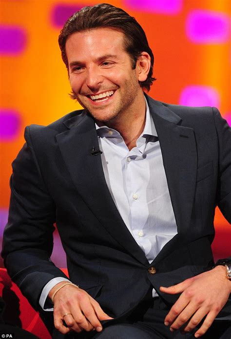 Bradley Cooper Jennifer Lawrence Said I Was A Wet Kisser¿ It Was Not A Compliment  Daily Mail