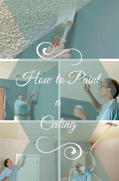Zimmerdecke Streichen Tipps by How To Paint A Ceiling Home Improvements Best Ceiling