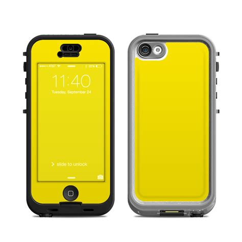 iphone 5c lifeproof solid state yellow lifeproof iphone 5c nuud skin covers