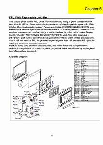 Acer Al1921h Service Manual Download  Schematics  Eeprom