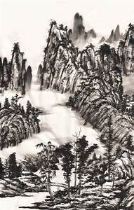 chinese ink landscape painting by zeamays37 on DeviantArt