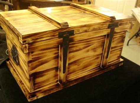 hand  wood ammo boxes