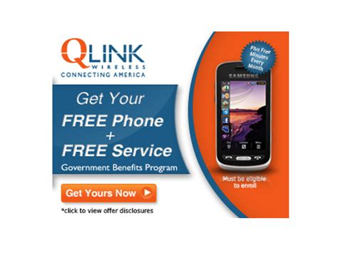 qlink wireless phone free qlink cell phone with free minutes view details