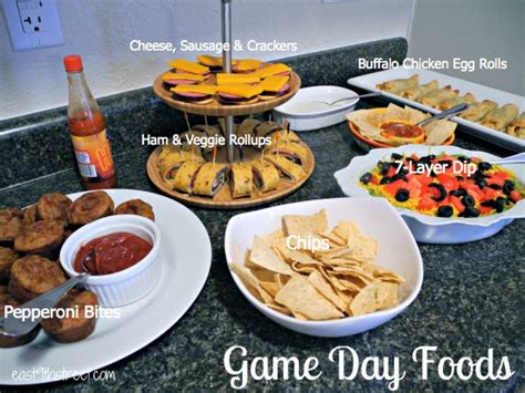 Family Game Night Food