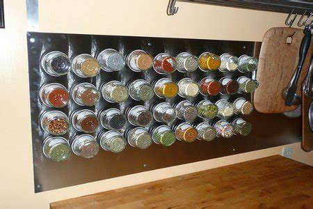 Do It Yourself Spice Rack by Diy A Magnetic Spice Rack Doityourself