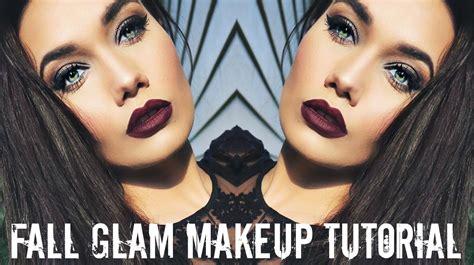 Fall Glam Makeup Tutorial 2016 Youtube