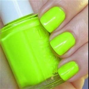 Lime green nail polish Pretty Things