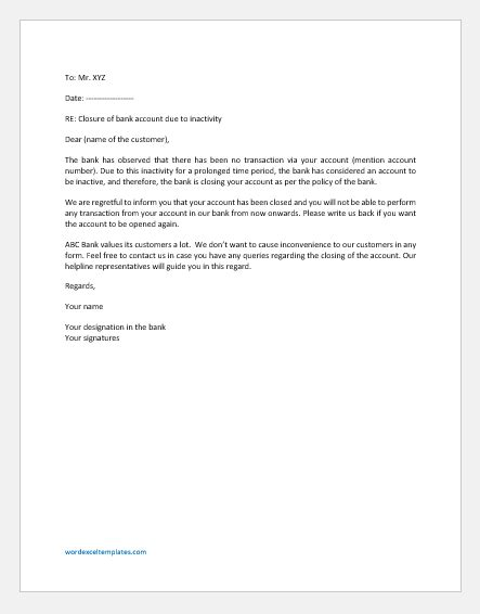 There are no measures or criterion of uncertainties in human life. Letter Template Providing Bank Details : 25 Best Proof Of ...
