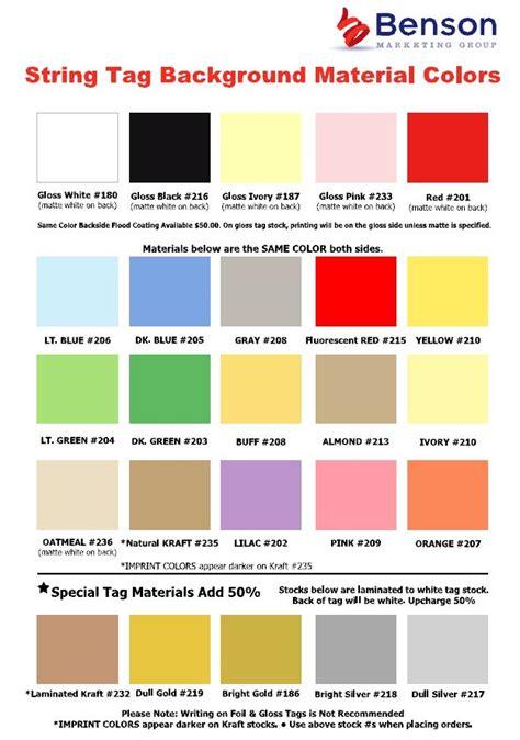 html color tags benson marketing custom string tags hang tags