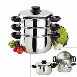 Cuit Vapeur Inox : combin cuit vapeur inox 24 cm baumalu ~ Melissatoandfro.com Idées de Décoration