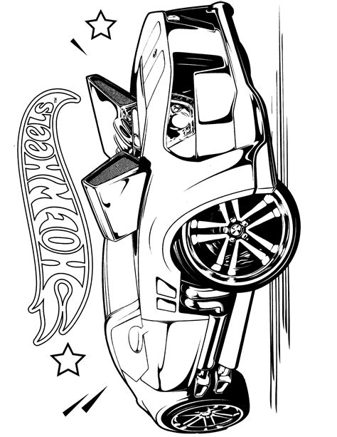 Pics Photos Hot Rod Drawing Sketch Coloring Page