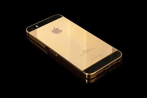 gold iphone apple solid gold iphone 5s uncrate