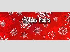 Holiday Hours – Auburn Public Library