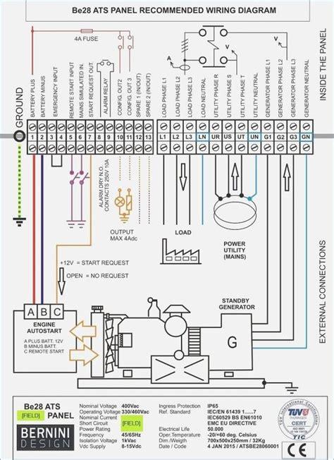 Emergen Transfer Switch Wiring Diagram by Generac Automatic Transfer Switch Wiring Diagram 100 3