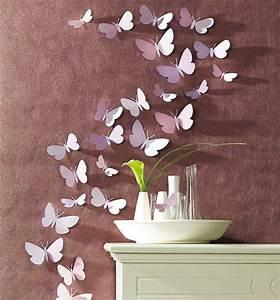 Deko Schmetterlinge Groß : die besten 25 schmetterlinge wanddeko ideen auf pinterest rosa papier basteln fr hling ~ Yasmunasinghe.com Haus und Dekorationen