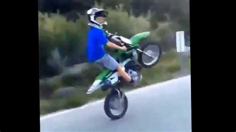 7 Year Old Wheelies A Klx 110!!! (2015) New!!! Youtube